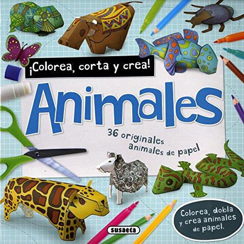 Animales (Colorea, corta y crea)