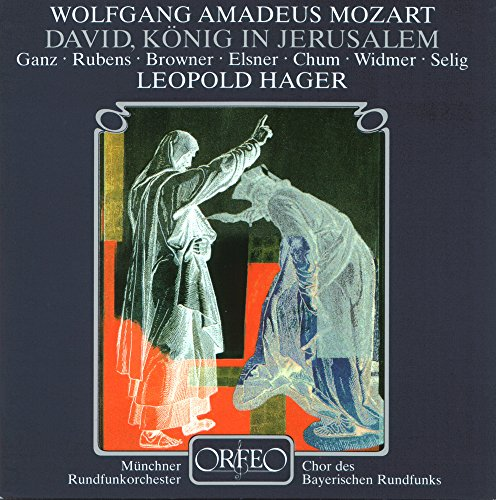 David, King in Jerusalem (After W.A. Mozart), Pt. 1: David spielt auf der Harfe