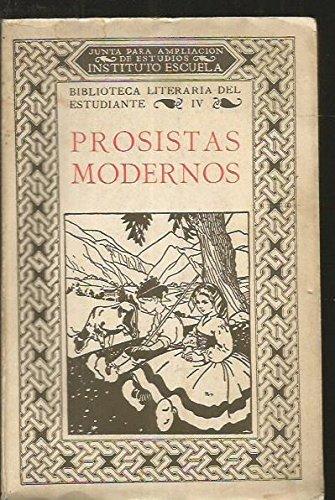PROSISTAS MODERNOS. TOMO IV