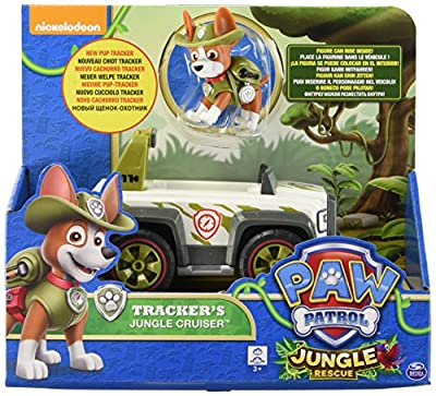 Paw Patrol - Tracker's Jungle Cruiser de Paw Patrol
