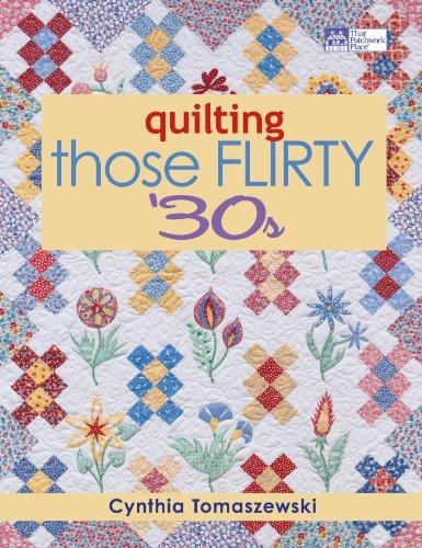 Quilting Those Flirty '30s Era-stitch