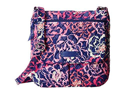 Vera Bradley  Double Zip Mailbag,  Damen Umhängetasche Katalina Pink