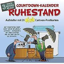 Countdown-Kalender Ruhestand: Postkartenkalender - Standkalender
