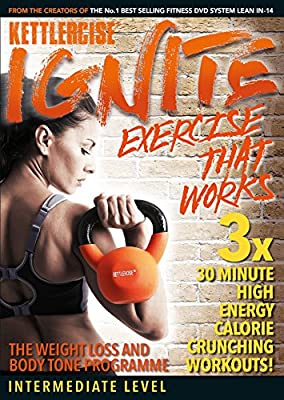 Kettlercise Ignite | Intermediate to Advanced | New Home Exercise/Workout DVD for 2017!