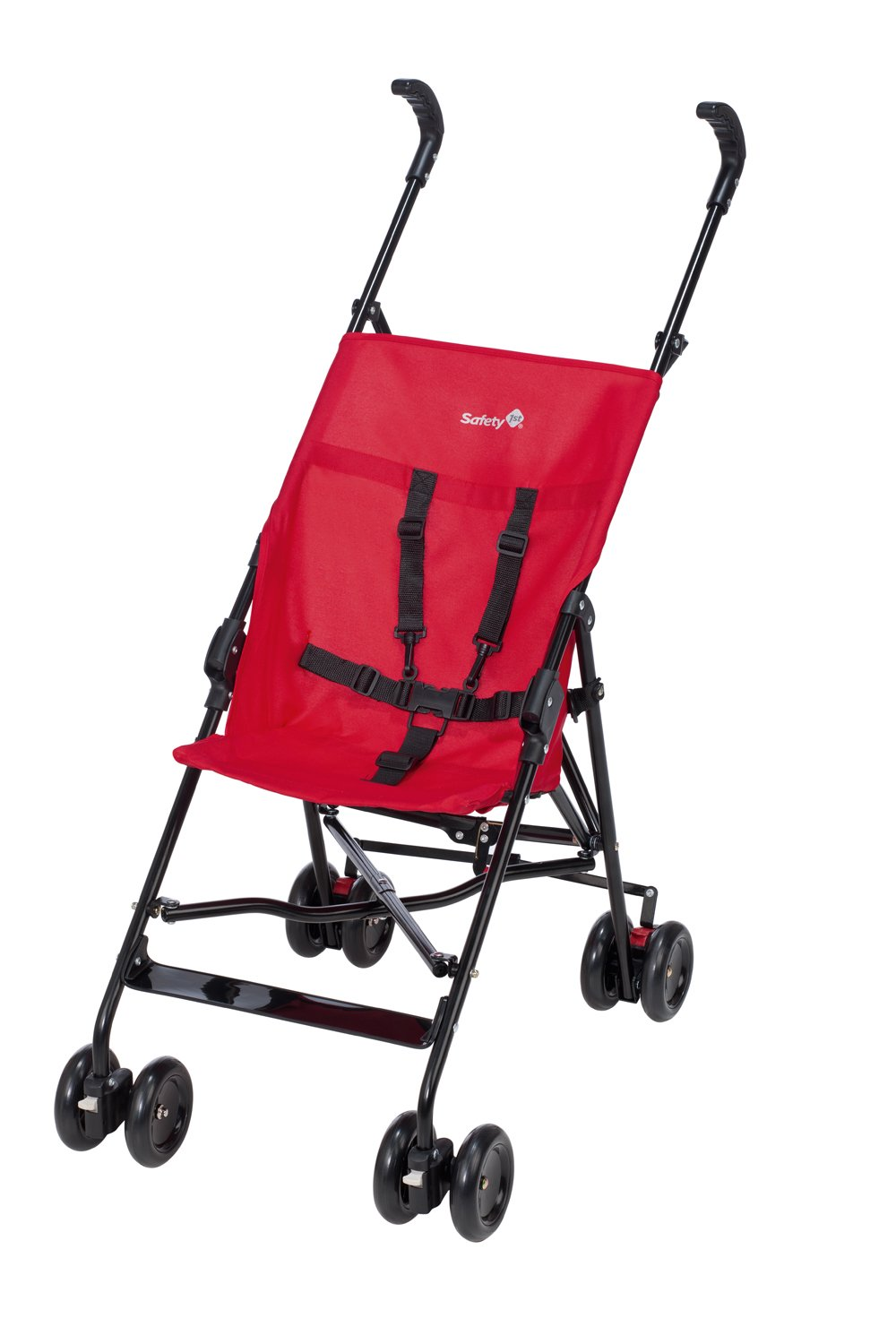 Safety 1st Peps Lightweight Buggy, Plain Red  Lightweight, only weighing 4.5kg so it's easy to carry Suspension on front wheels for a smooth ride Highly manoeuvrable with the swivelling front wheels 2