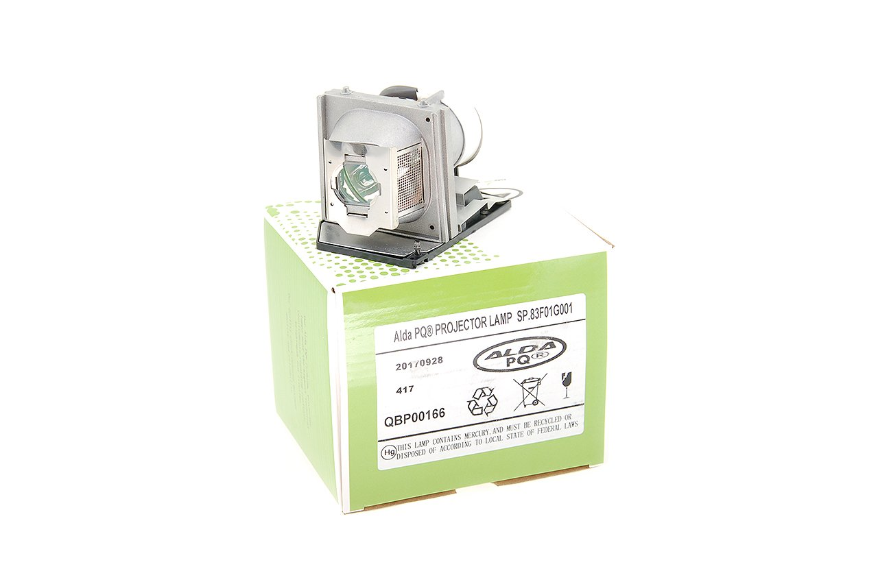 Alda PQ-Premium, Lampe de projecteur compatible avec SP.83F01G001, BL-FU220A, EC.J2701.001 pour OPTOMA HD6800, HD72, HD72I, HD73 ACER PD523PD, PD525PD Projecteurs, Lampe avec boîtier