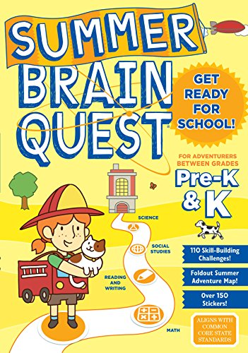 Summer Brain Quest: Between Grades Pre-K & - K-spiele Pre