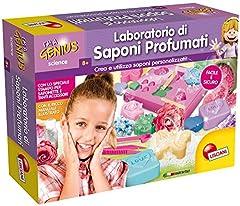 Idea Regalo - Liscianigiochi- I'm a Genius Science Gioco per Bambini Laboratorio dei Saponi Profumati, 56170