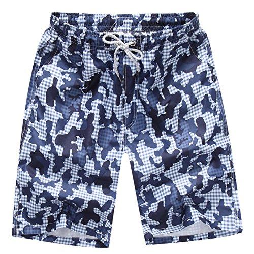O-C Mens'beach shorts youth summer beach pants XXXX-Large (Mens Hawaiian Boardshorts)