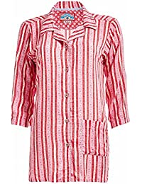 NEW 2014 PIP Studio Homewear Pijama parte superior Noor Cute Ribbon, Rojo Tamaño: M