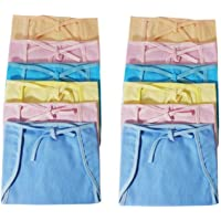 PEUBUD ® Cotton Cloth U Shape Nappy/Diapers/Langot/Nappies for New Born Baby Washable and Reusable (6-9 Months -Pack of…