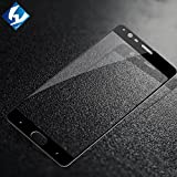 [Specially Designed for OnePlus 3T] BIGZOOK Tempered Glass for OnePlus 3T / One Plus 3T with Full Screen Coverage – BLACK