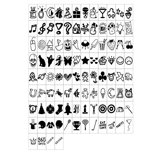 magiglow-100-black-special-decorative-symbols-for-use-with-cinematic-light-boxes-plastic