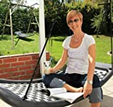 Relax-Schaukel - LifestyleStandard EL / Maße: 166 x 66 x 22 cm / Gewicht: 8,5 kg / Farbe: silber/schwarz