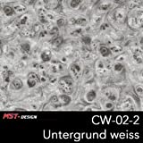 MST-Design Wassertransferdruck Folie I Starter Set Groß I WTD Folie + Dippdivator/Aktivator + Zubehör I 4 Meter mit 50 cm Breite I Wurzelholz Holz Holz-Optik I CW 02-2