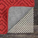 Grip Master 2x Dicke Bereich Teppich Pad für Harte Böden, maximalen Grip, Premium Schutz 6' X 9' weiß