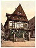Photo Cathedral Hildesheim Hanover A4 10x8 Poster Print