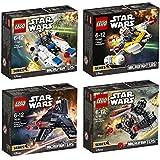 Lego Starwars Set 75160 75161 75162 75163 U-Wing Microfighter + TIE Striker Microfighter + Krennic's Imperial Shuttle Microfighter + Y-Wing Microfighter