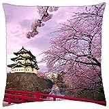 Hirosaki Castle Japan - Throw Pillow Cover Case (18