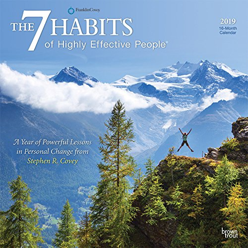 7 Habits of Highly Effective People, the 2019 Square Wall Calendar