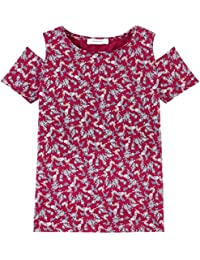 Promod T-Shirt mit Schulter-Cut-Outs