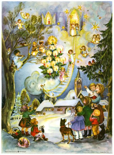 Sellmer Angels Stairway Calendrier de l&...