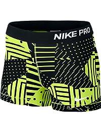 NIKE NIKE Women S Pro Core Patchwork 3 Compression Shorts