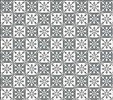 1 m² Zementfliesen Dekorfliesen orientalische Fliesen Motiv Flora 106_3 kombiniert mit Flora 106_4