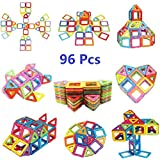 Magnetic Blocks Magnetic Building Blocks Set 96 PCS, Magnetic Tiles, Educational Toys For Baby/ Kids From Ysxuan (96 Pcs Magnetic Building Blocks)