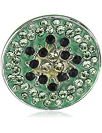 Swarovski - Dije de metal con cristal swarovski