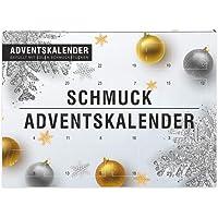 Schmuck Adventskalender 2020 für Frauen und Mädchen   tolle Überraschungen - Accessoires und Süßigkeiten   Geschenkidee…