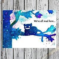 TinyTami - Katzen Postkarte - Al