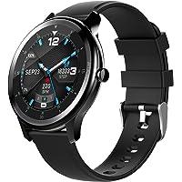 OGEDA Fashion Smartwatch Fitness Tracker Vollbildschirm IP68 Wasserdichte Sport-Fitness-Uhr mit Herzfrequenzmonitor…