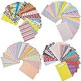 Mudder 80 Fogli Colorati Adesivi per Bordi Pellicola per FujiFilm Instax Mini 8 7s 25 50s 90 immagine