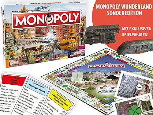 Monopoly Miniatur Wunderland Edition   Brettspiel   Gesellschaftsspiel   Spiel   Deutsch   6 Sammler Spielfiguren