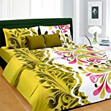 Cortina Prince Cotton Double Bedsheet wi...