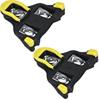 TUT Bike Cleats Cycling Pedals Cleats Compatible Shimano SPD-SL Self-Locking Bicycle Cleat Set for Indoor Outdoor Road…