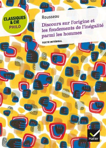 Discours sur l'origine et les fondements de l'inégalité par Jean-Jacques Rousseau
