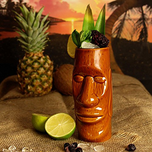 vasos tiki hawaianos isla pascua