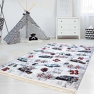 myshop24h kinder teppich waschbar waschmaschine teppich druckteppich flachflor d nn polyester. Black Bedroom Furniture Sets. Home Design Ideas