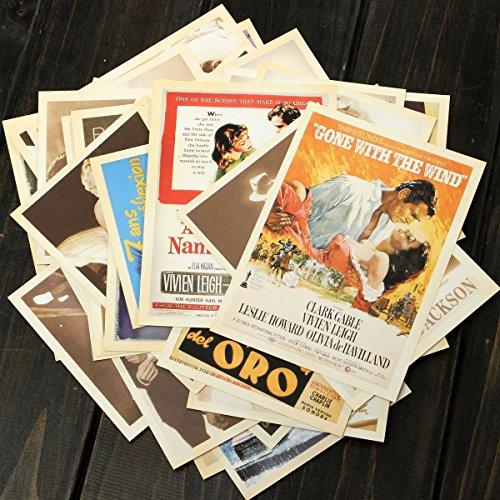 Tutoy 32 Travel Postal Vintage Paisaje Película Cartel Art-C
