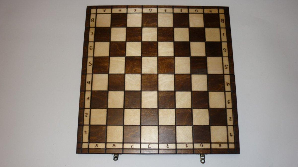 Schach-42x42cm-Handarbeit-Schachspiel-Brettspiel-Klappkoffer-inkl-Figuren-Holz