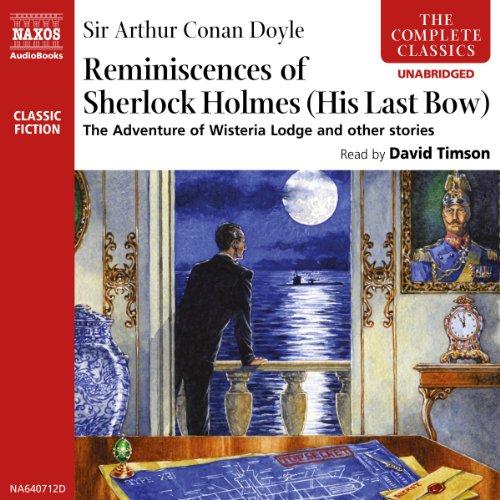 The Reminiscences of Sherlock Holmes  Audiolibri