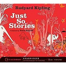 Just So Stories CD by Rudyard Kipling (2005-04-26)