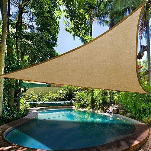 SH-Fyling Outdoor Camping Picknickzelt, Markise Outdoor Camping Picknickzelt Dreieck Sonnenschutz Baldachin Garten Terrasse Pool Schatten Segel Zelt by