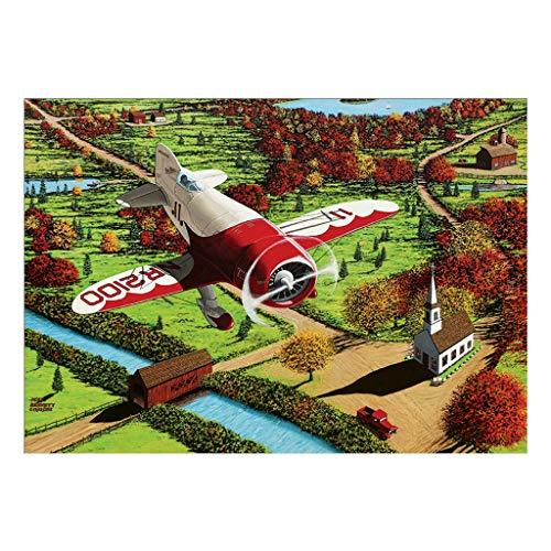 DIY 5D Diamant Gemälde für Erwachsene - Flugzeug, Full Drill Diamant Stickerei Gemälde für Zuhause Wanddekoration (Flugzeug Paint Kit)