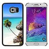 Print Motif Coque de protection Case Cover // V00002642 playa Riviera Cancún Tulum // Samsung Galaxy S6 EDGE (Not Fits S6)