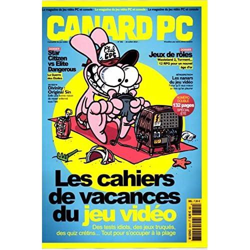 canard pc hors-série; les cahiers de vacances du jeu vidéo