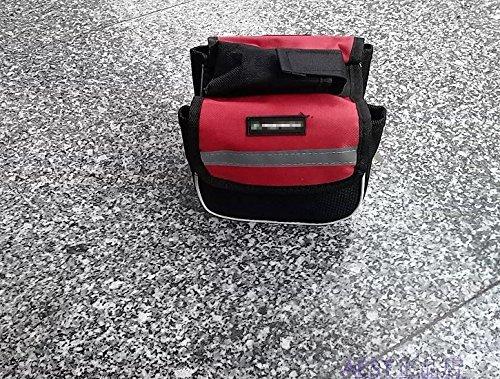 FAN4ZAME Das Gebrauchsmuster Umfasst Einen Sattel Eine Tasche Ein Balken Ein Fahrrad Ein Geldbeutel Und Ein Berg Fahrradtasche gules