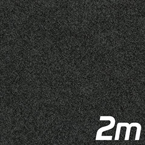 Anthracite Acoustic Subwoofer Box Carpet 2m x 1.35m